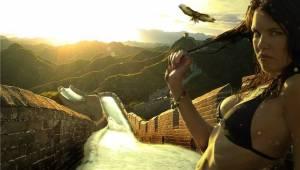Chinese muur glijbaan