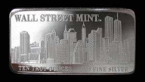 zilver bar wall street
