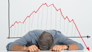 Zware crash aandelenmarkt