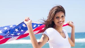 amerikaanse-jeugd-amerika-vlag