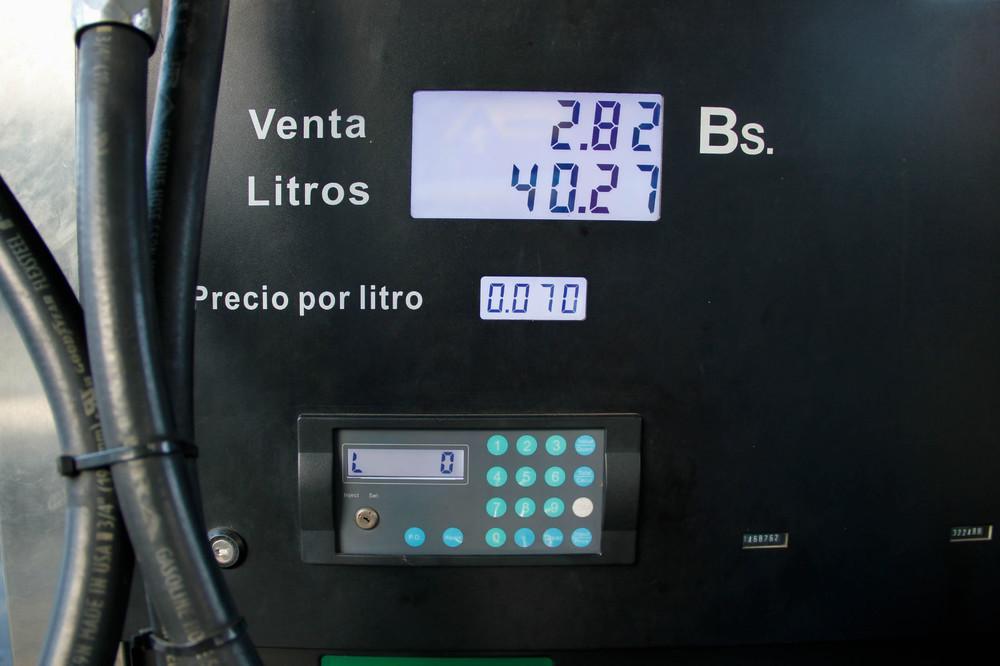 benzine prijs bolivar