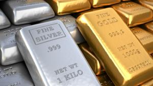 Goud en zilver uitbraak