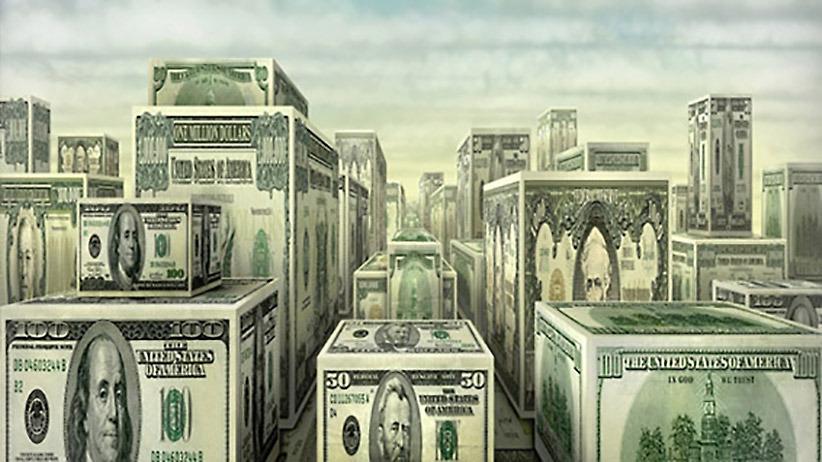 al het geld in de wereld