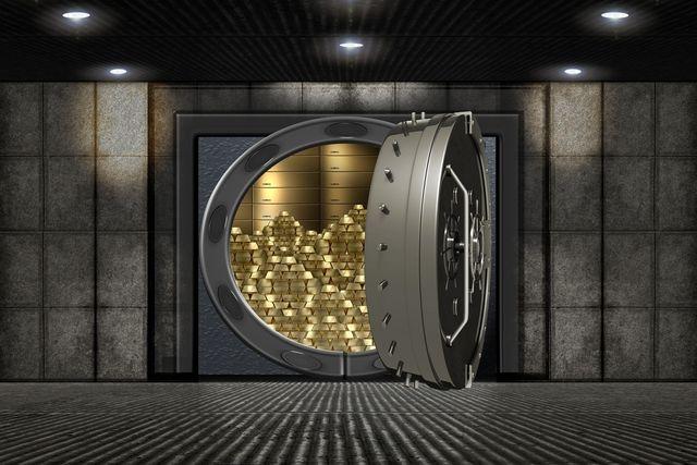 fysiek goud opslaan in eigen kluis