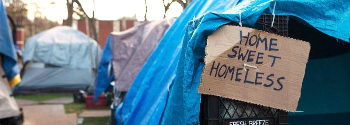van middenklassers naar dakloze home-sweet-homeless-banner