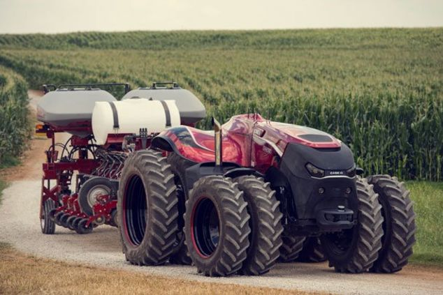 Robot Tractor 2