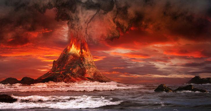 volcano-eruption