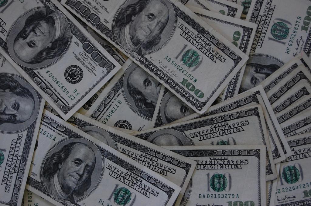 Veel cash geld