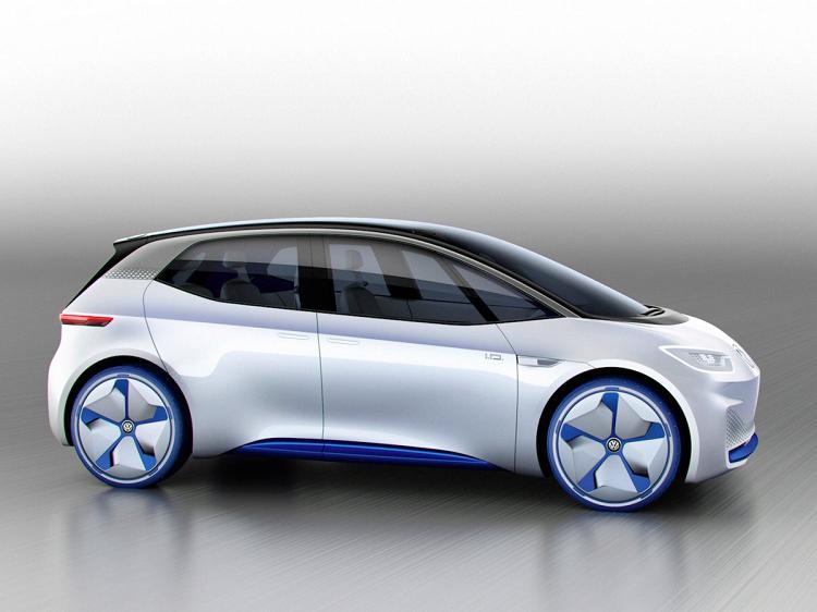Elektrische Volkswagen
