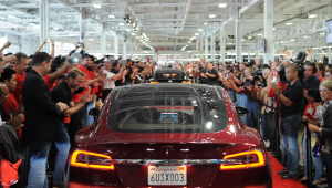 Tesla snelste productieauto