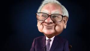 Warren Buffett karikatuur