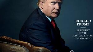 Time Cover Trump man van het jaar
