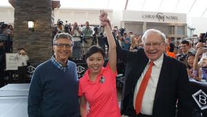 Bill Gates en Warren Buffett