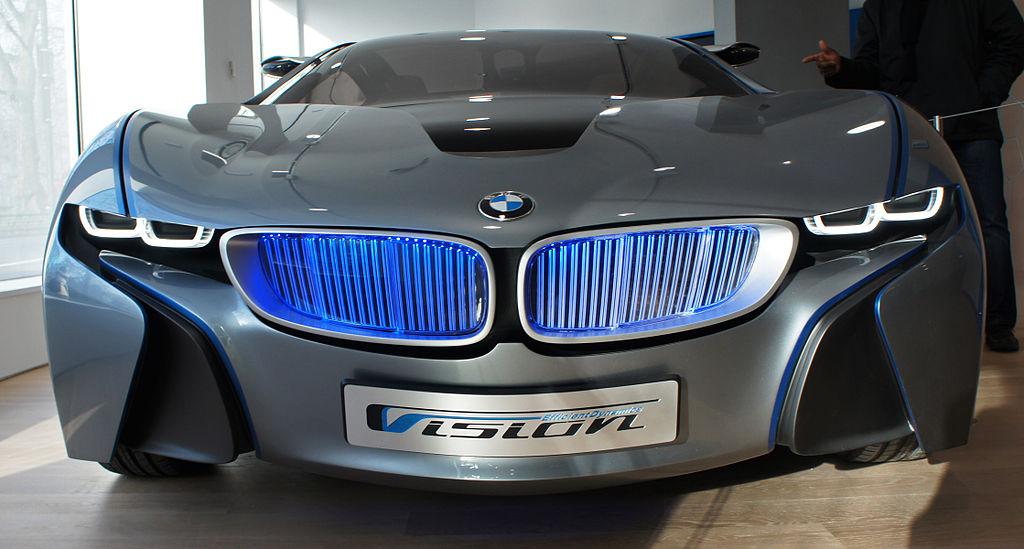 Closeup BMW i8