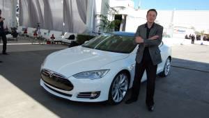 Elon Musk geheimen Tesla