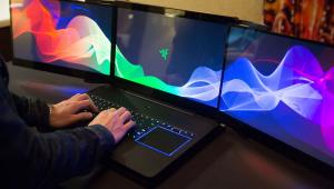Razor 3 screen laptop