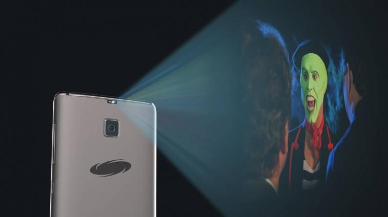Samsung Galaxy S8 projectie