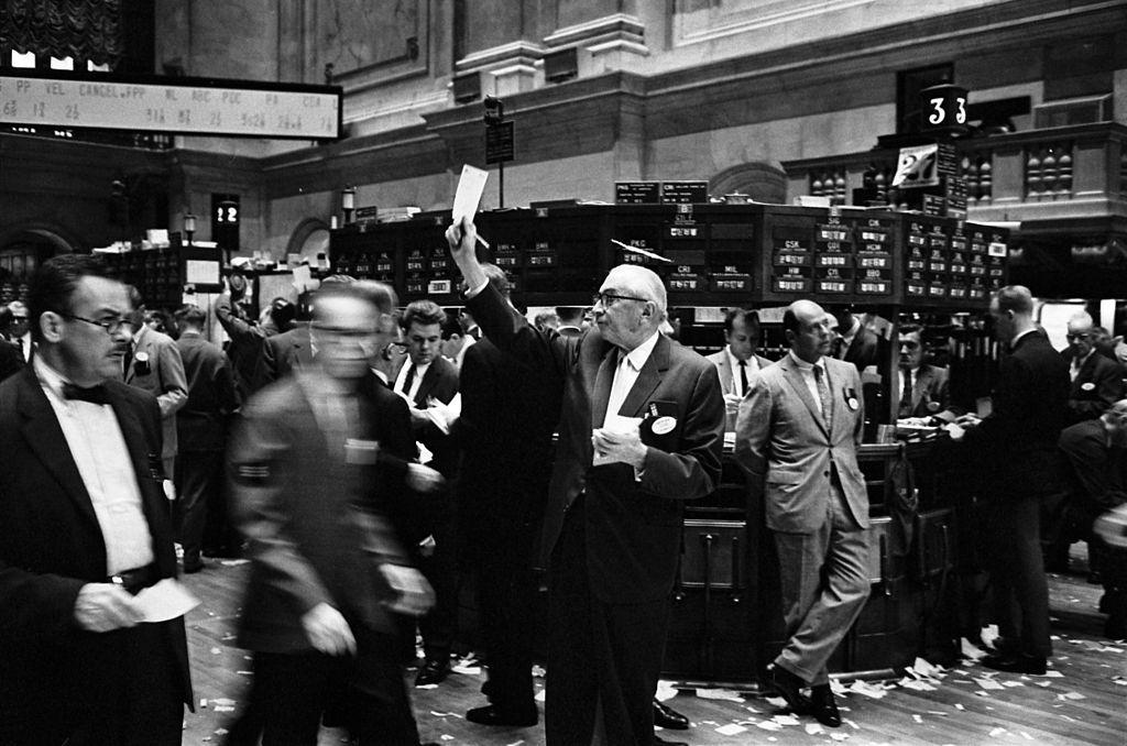 Oude aandelenmarkt