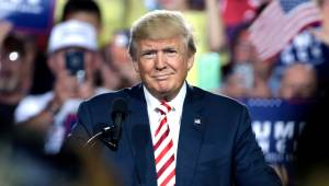 Donald Trump verdrietig