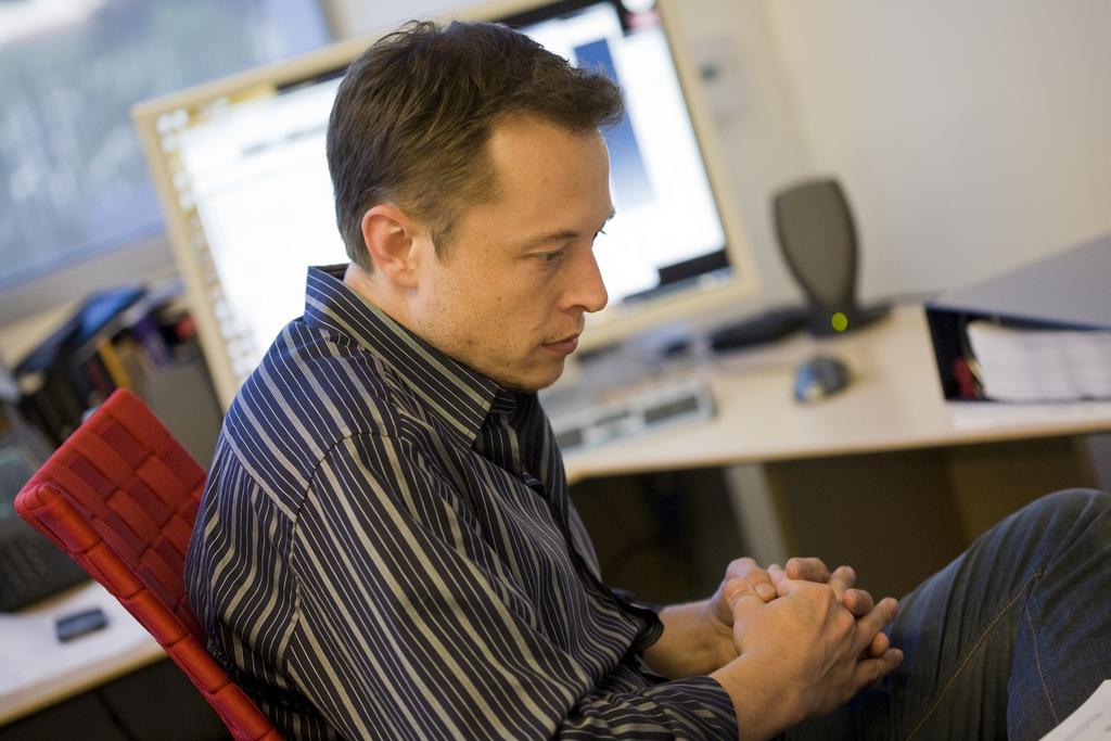 Elon Tesla Musk