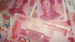 Bills Money Chinese Mao Cash Yuan Currency Asian