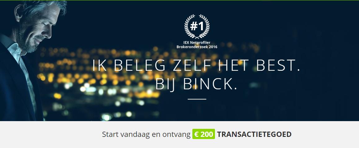 BinckBank Kop