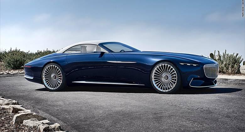 De Nieuwe Luxueuze Elektrische Cabrio Van Mercedes Is Adembenemend Mooi