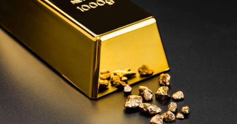 hoeveel staat het goud