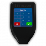 Beste hardware wallets - Trezor T